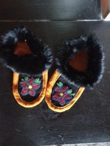 My First Hand-made Pair April 2014 Nehiyaw and Métis Territories